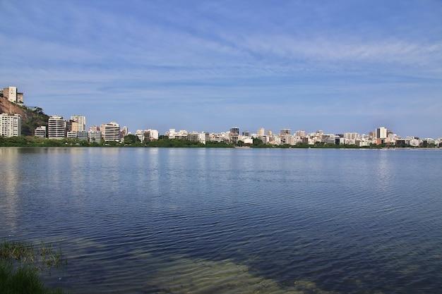 ブラジル、リオデジャネイロのロドリゴデフレイタスラグーン