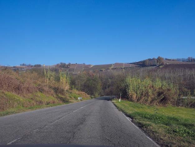 피에몬테의 로에로 언덕