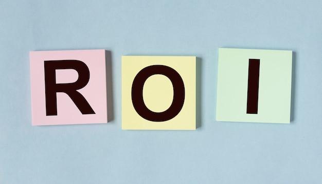 Акроним roi слово