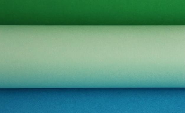 Роли цветной бумаги фона