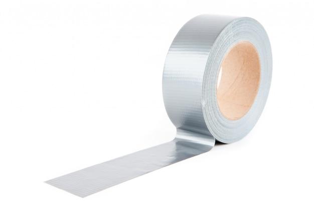 Рулон серебряной ленты