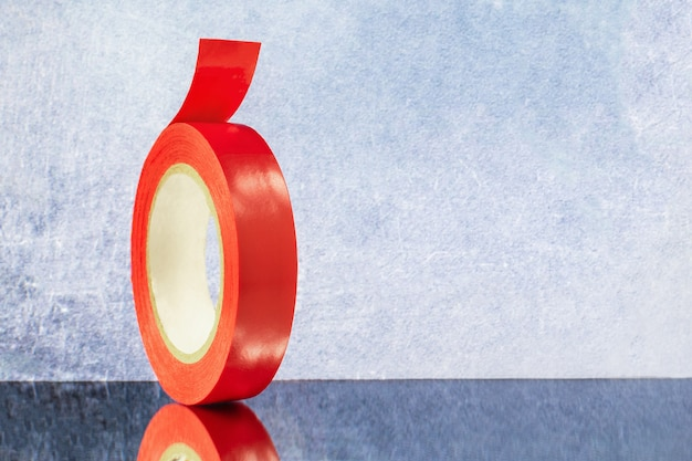 Roll red electrical tape