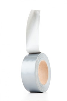 Roll of silver electrical tape