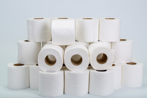Roll toilet paper for clean your covid-19