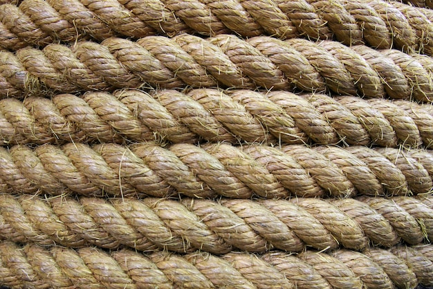 Rolled rope roll
