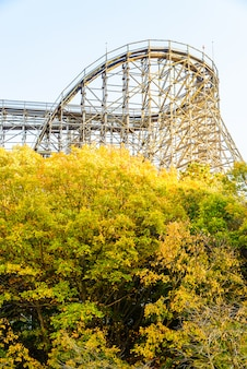 Roller coaster in korea park