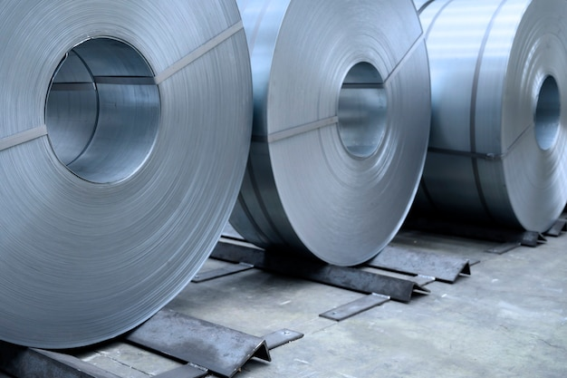 Рулоны листовой стали в рулонах заводской оцинкованной стали