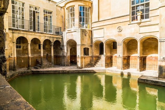 Roman baths in bath