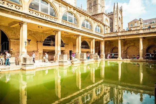 Римские бани в городе бат.