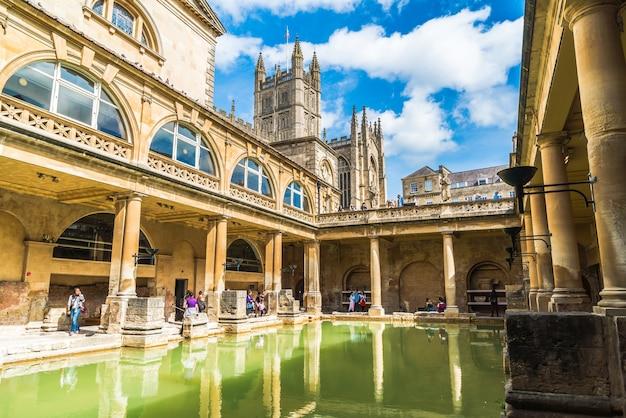 바스시의 로마 목욕탕.