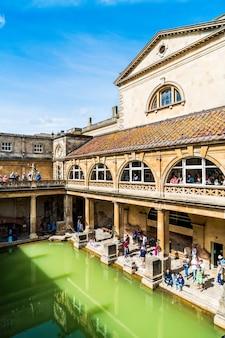 Roman baths, united kingdom.
