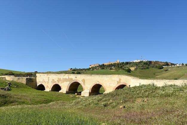 Roman bridge of carmona, sevilla province, andalusia, spain