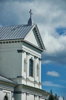 Roman catholic church of st. andrew the apostle  belarus, lyntupy,  myadzyel district