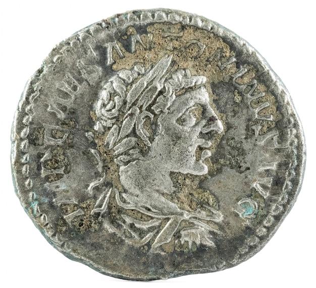 エラガバルスコインのローマデナリウス
