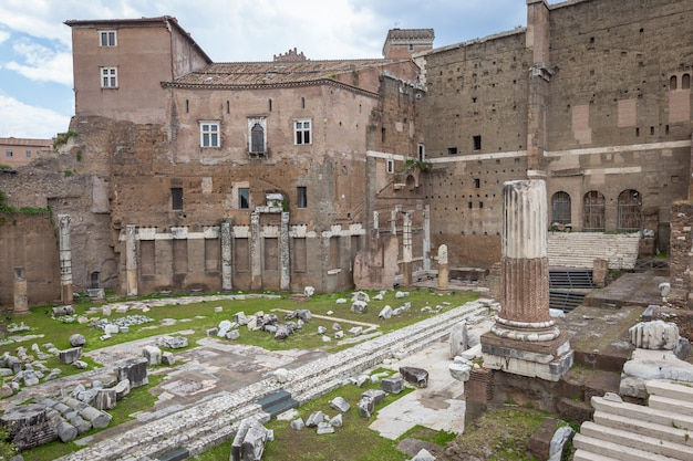 로마 포럼. 아우구스투스 황제 포럼