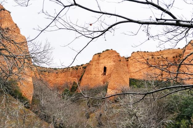 カスティーリャイレオンのローマの金鉱山ラスメドゥラス