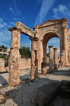 Roman ruins in tyre (sour), lebanon