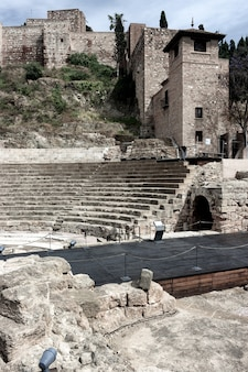 Roman theater and alcazaba of malaga