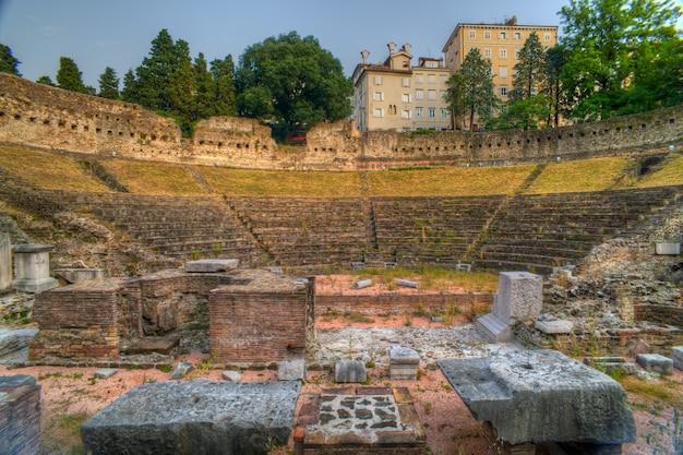 Roman theater in trieste