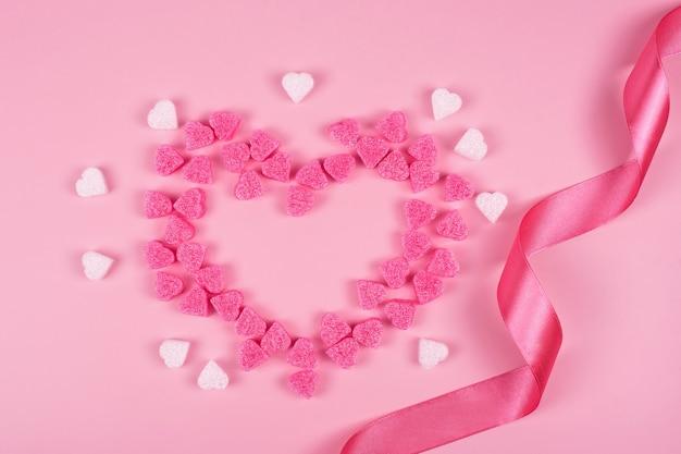 발렌타인 데이에 대한 낭만적 인 배경