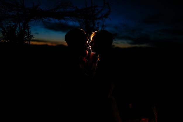 로맨틱 러브 스토리 아름다운 숲 시골
