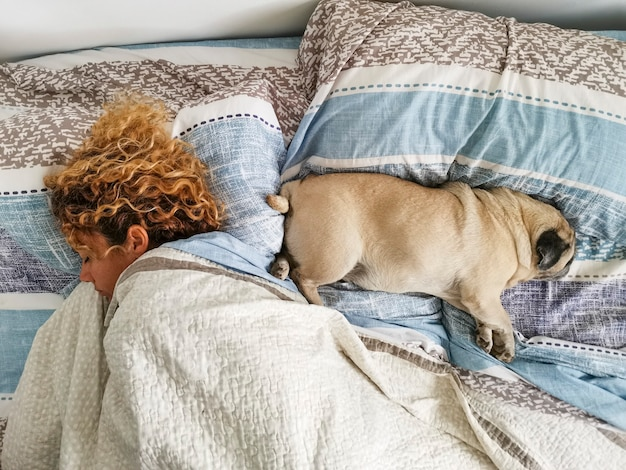 Романтические отношения человека и собаки концепции