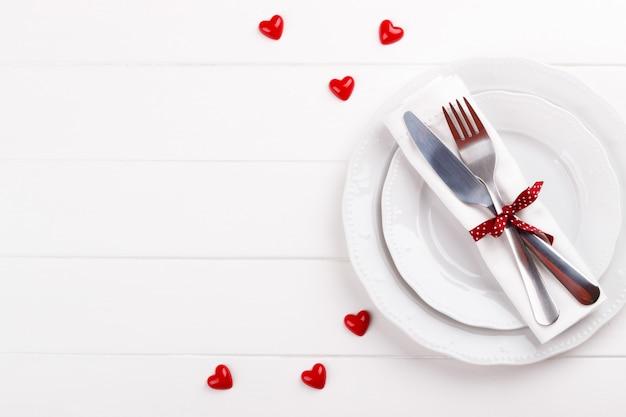 Романтическая сервировка