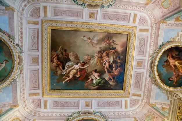 이탈리아 로마 - 2018년 6월 22일: 보르게세 미술관의 아트 프레스코