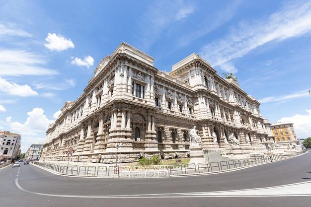 이탈리아 로마. 정의 궁전 palazzo di giustizia