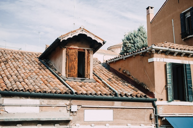 Roof attic in venice