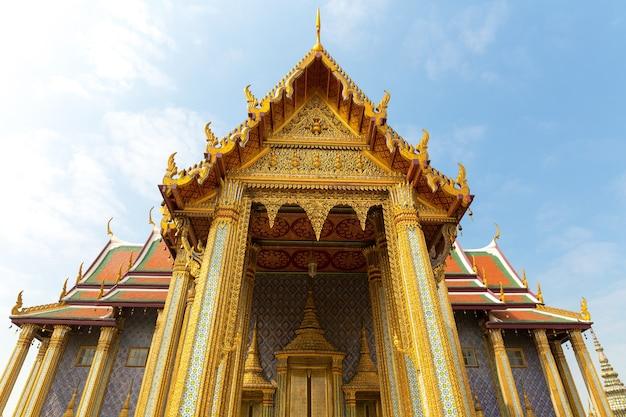 ワットポー寺院の屋根