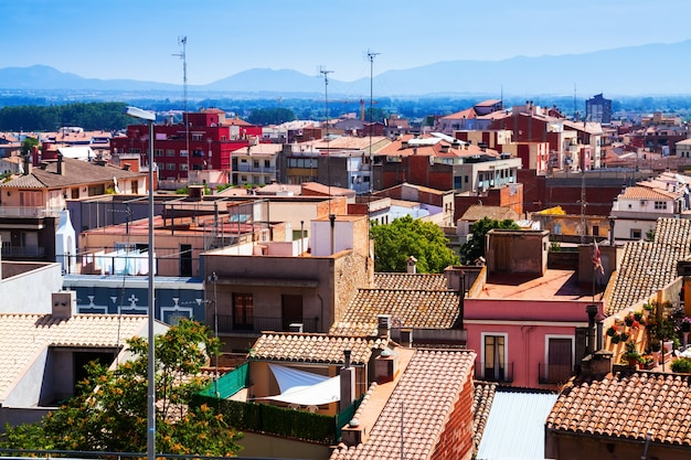 Tetti della città catalana - figueres