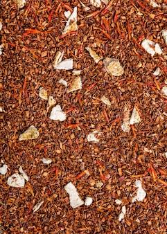 Rooibos tea background