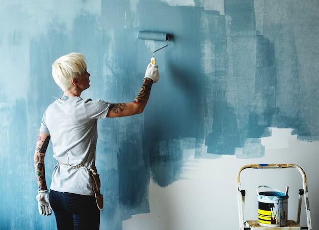 室内インテリア改装室内塗料