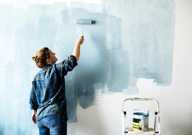 室内改装屋内用塗料