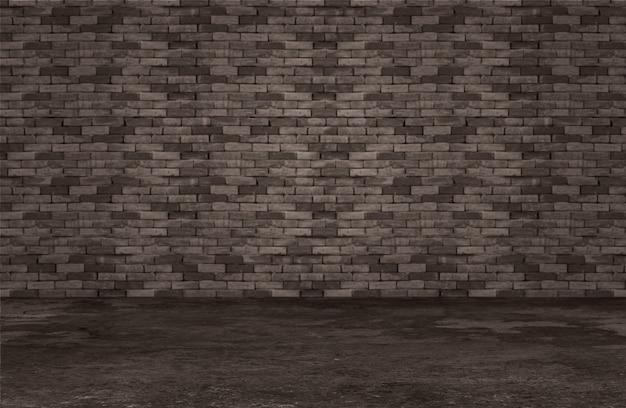 Camera con il muro di mattoni