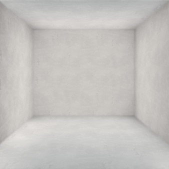 Room with white walls
