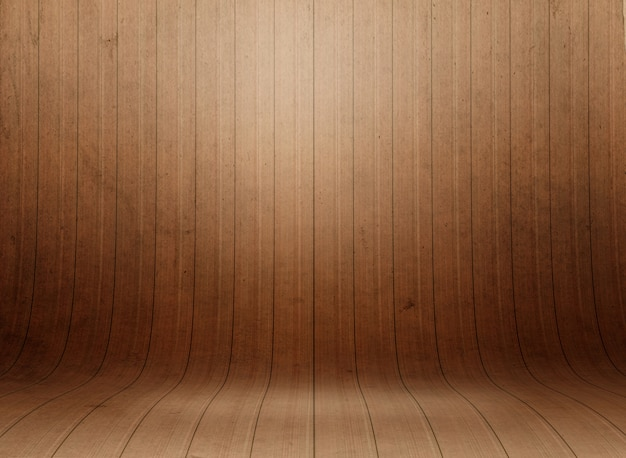 Room with wood texture