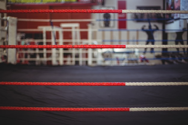 Rope of boxing ring
