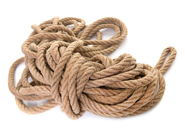 スタジオでロープ