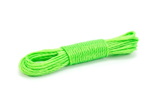 Rope isolated with clipping path