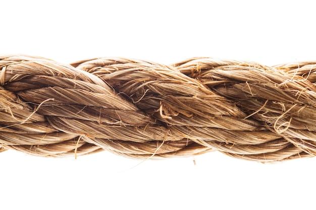分離されたロープ