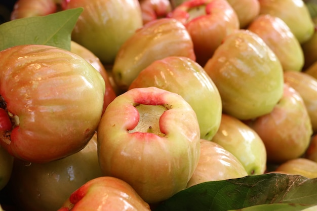 Rose apple at street food