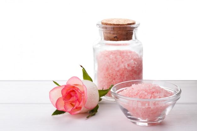 Rose bath salt