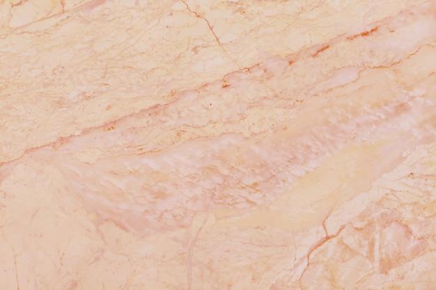 ローズゴールドの大理石の質感