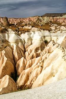 Rose valley goreme cappadocia turkey in summertime