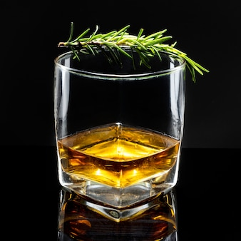 Rosemary old fashioned whisky