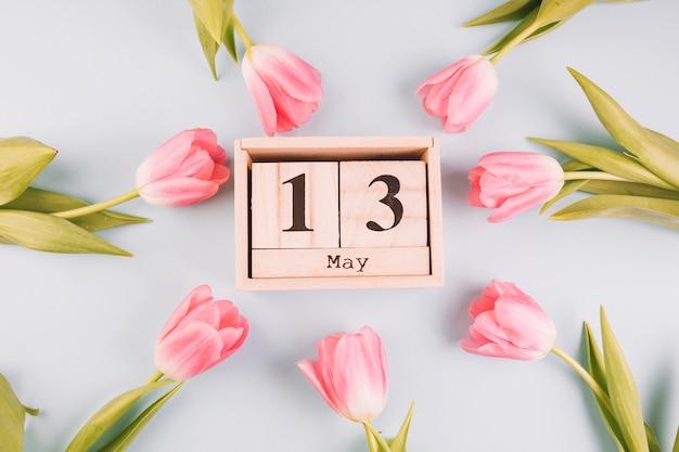 Rose intorno al calendario