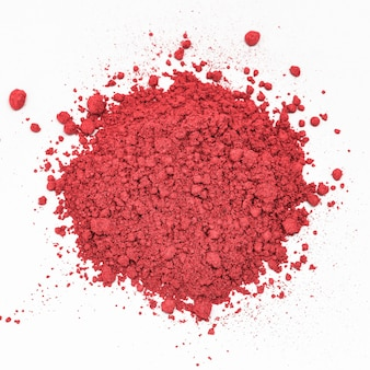 Rosy pink shimmer blush cosmetic powder