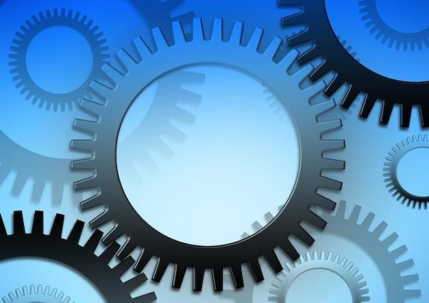 Rotation gears movement torque alone go